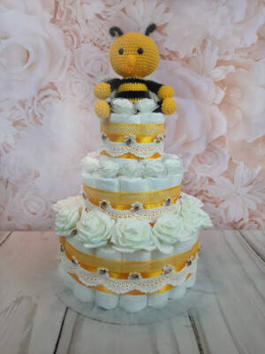mähkmetort parim kingitus beebile amigurumi mesilasega